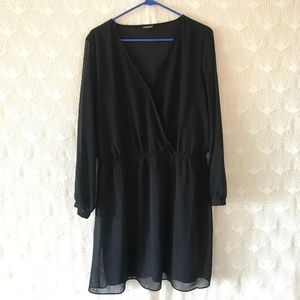 Black Express dress XL